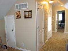 Upstairs Bonus Closets, built into the Attic.
