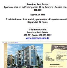 Apartamentos en la Prolongación 27 de Febrero - Separe con RD$ 150,000