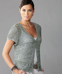 Ladies Lace Cardigan pattern