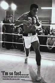 Muhammad Ali is such a character. so much respect for this man