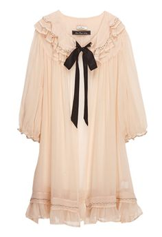 Peach Limona Negligee By Malene Birger