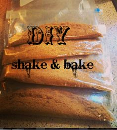 DIY Cheaper and Better for you Shake & Bake! No artificial ingredients!!