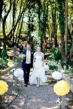 Glamping wedding at Swallows Oast