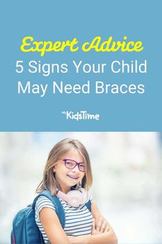 5 Signs Your Child May Need Braces – and What to Do Next Dental Care For Kids, Family Fitness, Best Oral, Oral Hygiene, Orthodontics, Stick It Out, Outlines, Parenting Advice