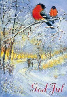 Norwegian Christmas Cards Norwegian christmas card by