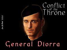 Raphael Diorra;General; Rogue Battalion