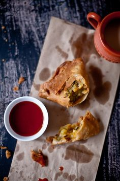 Potatoes and Peas Samosa is a classic samosa recipe which is a very popular tea time snack or street side treat in India.