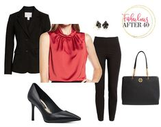Fall is a little more glam this year thanks to the Satin fashion trend. Find out how this luxurious fabric crosses over into day, and how to make the satin trend work for you to make your wardrobe shine. Business Chic, Business Fashion, The Chic, Look Chic, Fall Fashion Trends, Autumn Fashion, How To Look Rich, Satin Top, Work Blouse