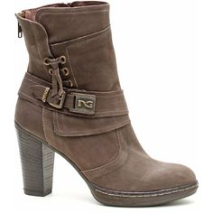 WOMEN'S LEATHER ANKLE BOOTS - NG