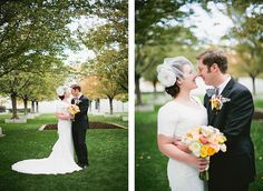 Birdcage veil, lace gown, Utah bridal, flowers by KF Designs, photos by MegRuth