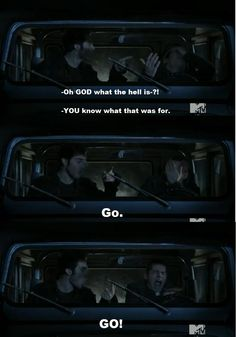 teen wolf funny | Teen Wolf Screenshot - Derek/Stiles funny moment by ~Fi-Re on ...