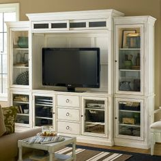White Entertainment Centers On Pinterest Flat Screen Tv