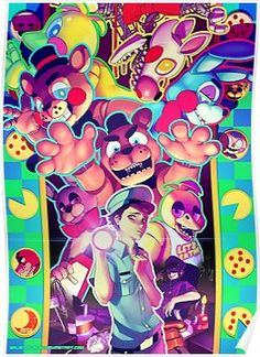 Is this where you want to be I just don't get it Why do you want to stay Five Nights at Freddy's The FNAF print is finally done! And yes, i said print, . Five Nights at Freddy's Five Nights At Freddy's, Freddy S, Framed Prints, Canvas Prints, Art Prints, Chibi, Pretty Drawings, Sister Location, Fight Night
