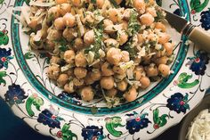 A healthy salad recipe from Bon Appetit - Chickpea Salad with Lemon, Parmesan, and Fresh Herbs Herb Recipes, Great Recipes, Salad Recipes, Cooking Recipes, Favorite Recipes, Dinner Recipes, Soup Recipes, Vegetarian Recipes, Healthy Recipes