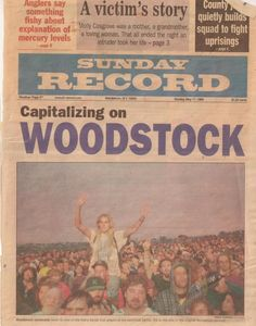 Woodstock The local paper...........