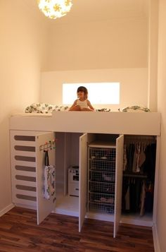 Similar to the closet under loft we were talking about.