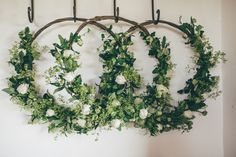 Natural & Earthy Greenery Home Made Wedding Bridesmaid Flowers, Bridal Flowers, Bridesmaids, Bouquet Images, Wedding Brooch Bouquets, Floral Hoops, Wedding Wreaths, Celtic Wedding, Rustic Wedding Centerpieces