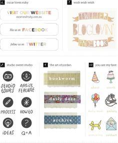 Custom Blog Buttons