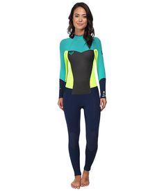 Roxy SYN43 Full Length Back Zip Wetsuit