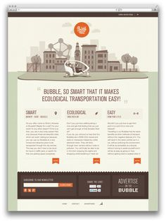 Bubble Taxi by True Story , via Behance