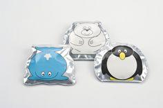 Baby Polar Gear Polar Animal Lunch Chillers 3 Kühlelemente in mit Tiermotiven  4