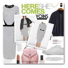 """""""Here She Comes"""" by tasnime-ben ❤ liked on Polyvore featuring Andrea, ncLA, Hourglass Cosmetics and yoins"""
