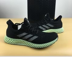 "sale retailer 998d6 50006 Adidas FUTURECRAFT 4D OG ""Ash Green"" Drops at KicksVogue"