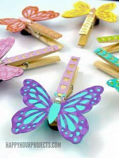 Pillangó - csipesz