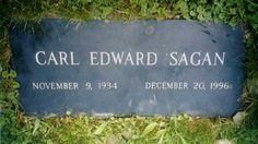 Carl Edward Sagan - Scientist. He was an American astronomer and science writer who used his talents not only for scientific research and government space projects but also in mass media.