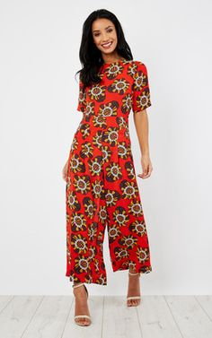 e4f7122bf078 Can t Help But Smile Bianca Jumpsuit Red Red Jumpsuit