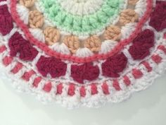 A #Crochet Contribution to Mandalas for Marinke from Laura + video of depression-themed dance on SYTYCD