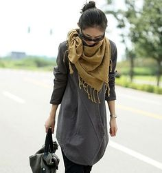 Great style! I love Asian style clothing.