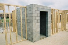 Tough-as-Nails Interior Design    Building an interior storm shelter is easiest during new construction. No matter what type of construction materials are used, the unit must be bolted to a concrete slab. The cost to build an interior storm shelter is $6,000 to $15,000, depending on the size, location, and door style