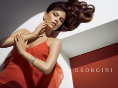 The Beauty Model: Manuela Binder by George Favios for Georgini S/S 2012