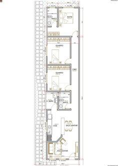 Casa 3 Quartos - 90.15m²