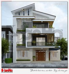 Modern House Facades, Modern Architecture House, Modern Buildings, Bungalow House Plans, Small House Plans, Modern Kitchen Design, Modern House Design, Architectural House Plans, Duplex House Design