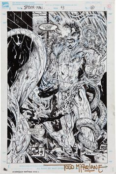 One Of My Most Influential Comic Book Artists: Todd McFarlane