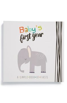 Lucy+Darling+'Baby's+First+Year'+Memory+Book+available+at+#Nordstrom
