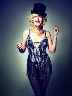 Ellie Goulding, styled by Karen Preston