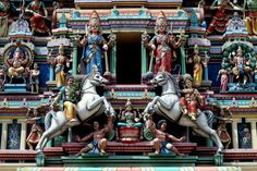 Lumpur Malaysia Sri Mahamariamman Temple Kuala wallpaper