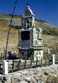 Roadside Shrine, Delphi, Greece -