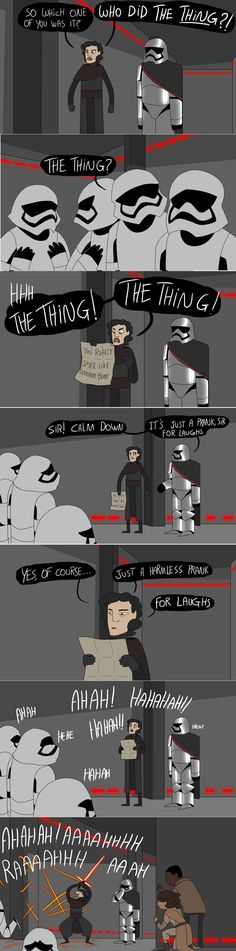 Kylo Ren and lemongrab are basically the same you can't deny it    by kelgrid