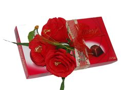 Chocolate &Flowers Chocolate Flowers, Napkins, Gift Wrapping, Tableware, Gifts, Gift Wrapping Paper, Dinnerware, Presents, Towels