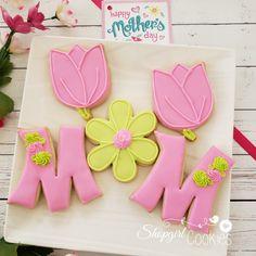 Mother's Day Cookies, Summer Cookies, Plain Cookies, Fancy Cookies, Cute Cookies, Cupcake Cookies, Cookie Favors, Heart Cookies, Valentine Cookies