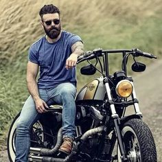 #motorcycle #beard #beards #rider