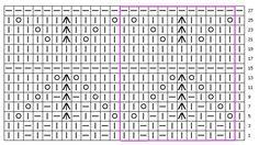 Вязание спицами со схемами. Модели, схемы и описания вязания спицами: ФАНТАЗИЙНЫЙ АЖУРНЫЙ УЗОР. Вязание на спицах # 74