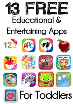 13 of the Best Free Educational And Entertaining Apps For Toddlers that you must download. Not only are these apps approved by a Bella, my toddler, they have significantly helped her along with other tools we use to be able to recognize the whole alphabet and all her numbers up to 10 at the age of 2. She also knows her basic colours and shapes.