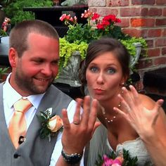 """Like @beyonce says ... He liked it so he """"put a ring on it."""" A funny moment as Tiffany and Clifton take a breather after their big moment. #wedding #weddingring #weddingmovie #virginia #richmond #rvawedding #rva #rvabride #weddingvideo"""