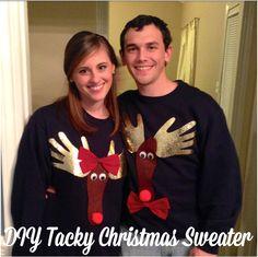 You Got Personal: DIY Tacky Christmas Sweater