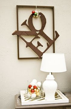 Pudel-design: DIY vs. Pottery Barn - or the NOEL sign out of cardboard.